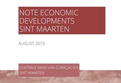 Note Economic Development Sint Maarten - August 2019