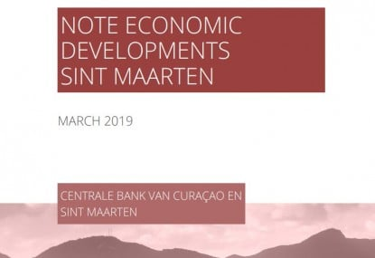 Note Economic Development Sint Maarten March 2019